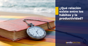 relacion entre habitos y productividad