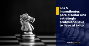 estrategia profesional exito